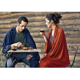 Cocoon Travel Blanket Merino Wool/Silk graphite blue